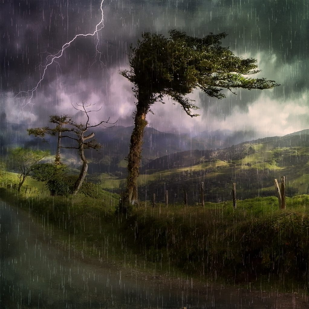 Image by Pezibear illsutrating poem titled Weather by H. Hennenburg